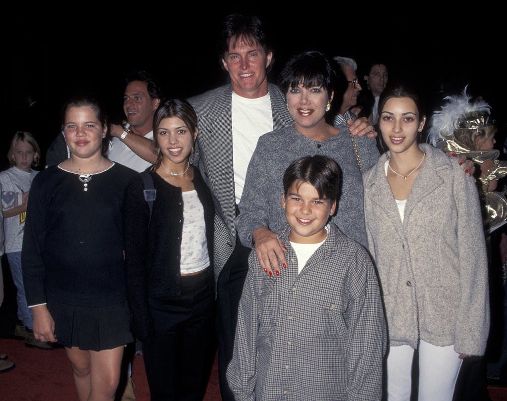 """What do the Kardashian sisters have in common with Mia Farrow and Mariska Hargitay? They all went to Marymount High School, where students have to fulfill a requirement of 100 hours of community service before they can graduate. Years after Kim finished school, she reflected on her 1997 yearbook photo. """"People say, 'She's had her lips and her nose done.' Look at this photo. Tiny nose, huge lips. My lips look bigger here than they do now,"""" she said."""