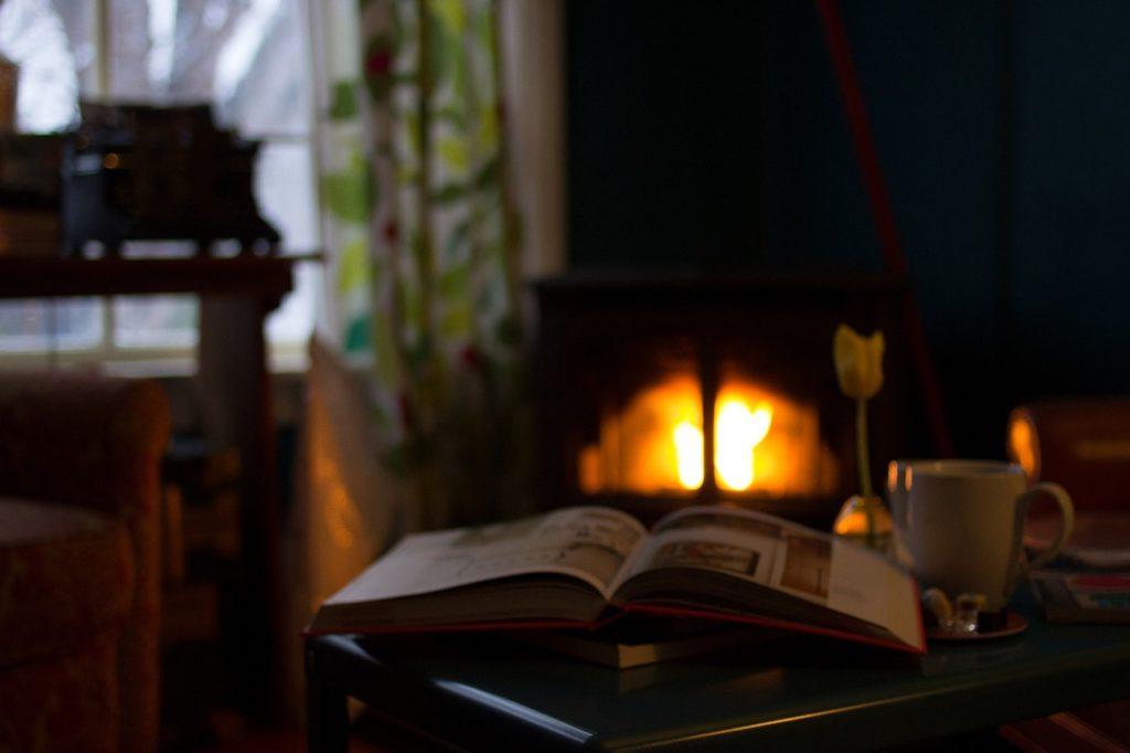 jesienne wieczory i książka